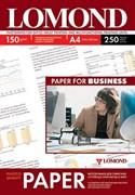 Lomond Глянцевая бумага 1х A4, 150г/м2 250 л.     0102133