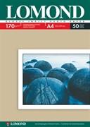Lomond Глянцевая бумага 1х A4, 170г/м2 50 л.     0102142