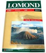 Lomond Глянцевая бумага 1х A4, 230г/м2, 25л.     0102049