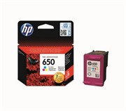 Картридж Hewlett-Packard HP 650 Tri-colour (Цветной) Ink Cartridge для HP Deskjet Ink Advantage 2515 и 2515 e-All-in-One     CZ102AE
