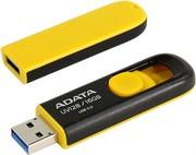 A-DATA Флеш накопитель 16GB UV128, USB 3.0, черный/желтый     AUV128-16G-RBY