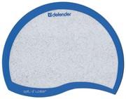 Defender Коврик пластиковый Ergo opti-laser Blue (синий) 215х165х1.2 мм     50513
