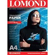 Lomond Бумага А4 для термопереноса на темные ткани 50л. (за 1л)     0808425