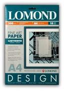 Lomond Бумага глянцевая с тиснением 'Лабиринт' 200г/м2 10л А4     0924041