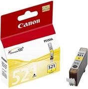 Чернильница CANON CLI-521Y ProfiLine с чипом     CLI-521Y