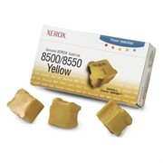 Тонер-картридж Xerox Phaser 8500/8550 yellow (o) 3шт.     108R00671