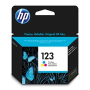 Картридж Hewlett-Packard HP 123 Tri-colour (Цветной) Ink Cartridge     F6V16AE