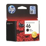 Картридж Hewlett-Packard 46 черный для DJ 2020/2520/4729     CZ637AE