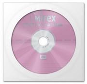 Диск DVD+RW Mirex 4.7 Gb, 4x, Бум.конверт