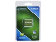 Разветвитель Defender USB QUADRO IRON USB2.0, 4 порта, метал. корпус     83506