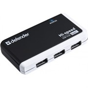 Разветвитель USB QUADRO INFIX USB2.0, 4 порта  Defender     83504