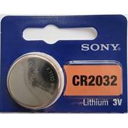 Батарейка CR2032, 3 В, Sony (1 шт.)     CR2032