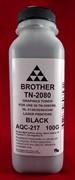 Тонер Brother TN 2080/2090 HL 2240/2140/2130/2132/2135 (фл.100г) AQC- фас.России     AQC-217