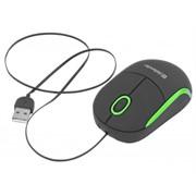 Defender Мышь Discovery MS-630 USB BE(Ч-Зел) 2кн+кл 1000dpi скручивающ. каб     52631