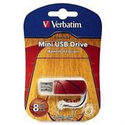 Verbatim 8GB флэш-диск Mini Sport Edition, USB 2.0, Баскетбол     98507