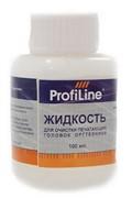 Жидкость для очистки печатающих головок оргтехники, 100мл, ProfiLine