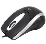 Мышь CBR CM-101 Black, оптика, 1200dpi, офисн., провод 1.28+-0.3 м., USB     CM 101 Black