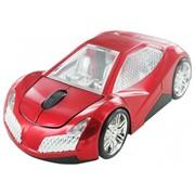 Мышь сувенирная беспроводная CBR MF 500 Elegance Red, игр.автомобиль, 2,4 ГГц     MF 500 Elegance Red