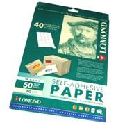 Lomond Наклейки А4: 40 частей 50 листов (48.5x25.4)     2100195