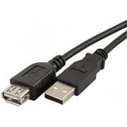 Удлинитель кабеля USB 2.0 AM/AF, 1.8м Defender пакет     87456
