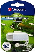 Verbatim 16GB Флеш диск Mini Sport Edition, USB 2.0, Гольф     98682