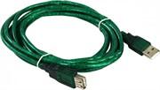 Кабель удлинительный USB2.0 AM/AF 3m прозрачная изоляция Aopen/Qust (ACU202-3MTG)     ACU202-3MTG_853691