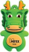 Флеш накопитель 16GB Mirex Dragon, USB 2.0, Зеленый     13600-KIDGDR16