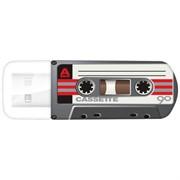 Verbatim 32GB Флеш накопитель Mini Cassete Edition, USB Black     49391