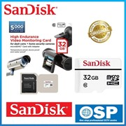 Флеш карта microSD 32GB SanDisk microSDHC Class 10 UHS-I U3 High Endurance Video Monitoring for Home Security Cameras     SDSDQQ-032G-G46A