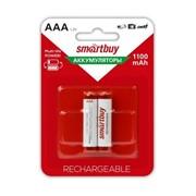 Аккумулятор NiMh Smartbuy AAA 1100 mAh (1 шт)     R03 1100