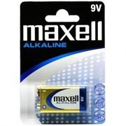 Батарейка крона MAXELL 6LR61  (1бл)  (крона-алкалиновая)     6LR61