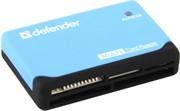 Defender Кардридер ULTRA, работает с картами большого объема + кабель USB 2.0 A(M) - MiniB (M) длина 1 м.     83500