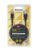 Кабель USB09-03PRO USB2.0 AM- Type C, 1.0 м DEFENDER     87492
