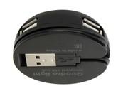 Разветвитель USB Quadro Light USB 2.0, 4 порта     83201