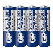 Батарейка AA, GP  Power Plus Blue  (уп 4 шт.)     LR06 - фото 10205