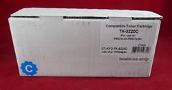 Тонер-картридж для Kyocera Ecosys P5021/M5521 TK-5220C cyan 1.2K (С ЧИПОМ) (ELP Imaging®)     CT-KYO-TK-5220C - фото 10232