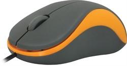 Defender Мышь Accura MS-970 ссерый+оранжевый,3кнопки,1000     52971 - фото 10278