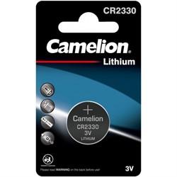 Батарейка CR2330 CAMELION (1 шт.)     CR2330 - фото 10295