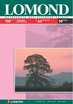 Lomond Глянцевая бумага 1х A4, 150г/м2 50 л.     0102018 - фото 4461