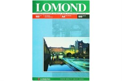 Lomond Матовая бумага 1х A4, 160г/м2, 100 листов     0102005 - фото 4463