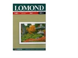 Lomond Глянцевая бумага 1х A4, 240г/м2, 50л.     0102135 - фото 4503