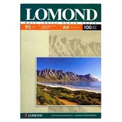 Lomond Матовая бумага 1х A4 95г/м2 100 листов     0102125 - фото 4566