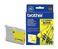 Картридж Brother DCP130C/330С, MFC-240C/5460CN/DCP350 Yellow, 400 pages (5%)     LC1000Y - фото 4581