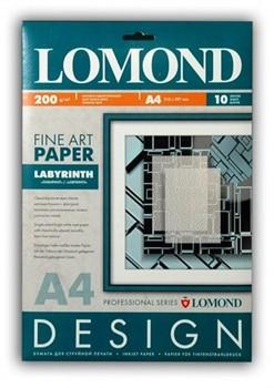 Lomond Бумага глянцевая с тиснением 'Лабиринт' 200г/м2 10л А4     0924041 - фото 4642