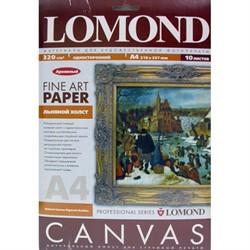 Lomond Холст А4 10 л. Pigm Canvas P для пигментных чернил (по 1 листу)     0908421 - фото 4684