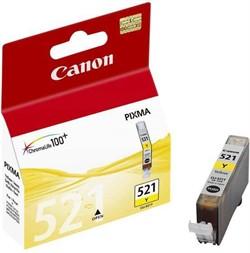 Чернильница CANON CLI-521Y ProfiLine с чипом     CLI-521Y - фото 4756