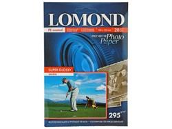Lomond Суперглянцевая фотобумага 10х15, 295г/м2, 20л.     1108103 - фото 4790