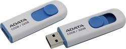 Флеш накопитель 32GB A-DATA Classic C008, USB 2.0, Белый     AC008-32G-RWE - фото 4830