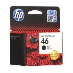 Картридж Hewlett-Packard 46 черный для DJ 2020/2520/4729     CZ637AE - фото 4854