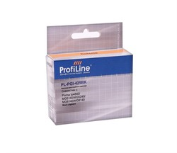 Картридж CANON CLI-425BK pigment с чипом ProfiLine     CLI-425BK - фото 4959